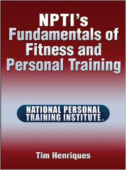 npti fundamentals of fitness and personal training