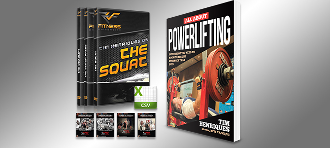 Strength Experts Powerlifting Video Bundle
